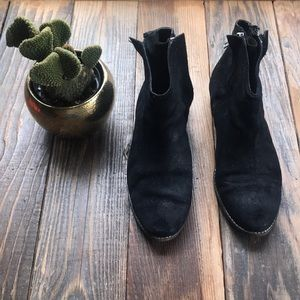 Double sided zip up booties